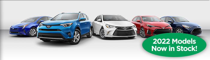 Over 50 Toyotas Available. The Very Latest Models.